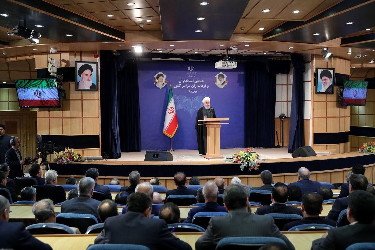 روحاني: لن نسمح لترامب بزعزعة العلاقات بين شعبنا ونظامه