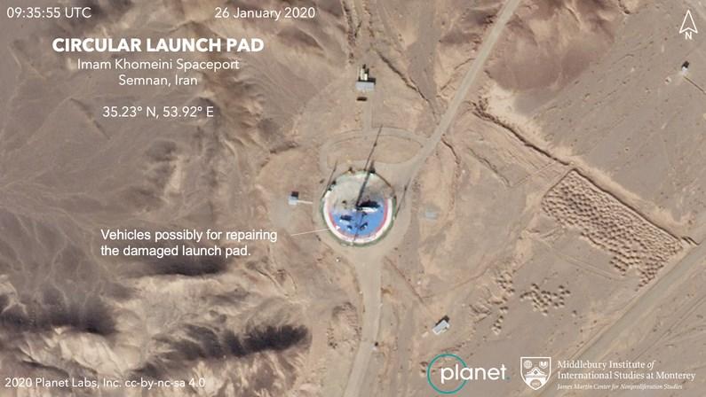 إيران تستعد لإطلاق قمر صناعي إلى الفضاء