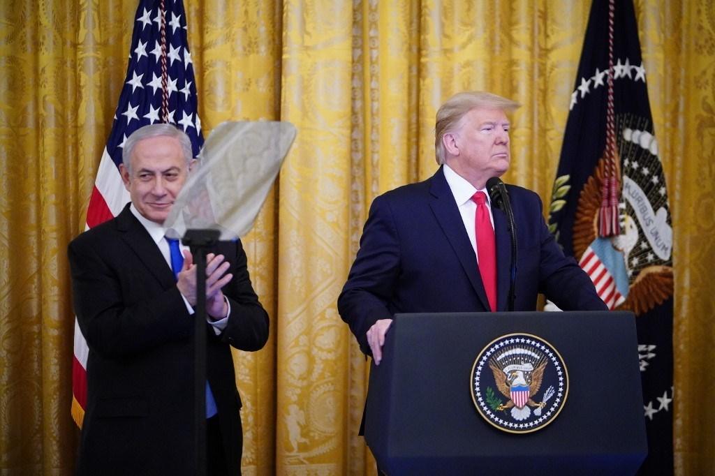 """ترامب يعلن """"صفقة القرن"""" وأبرز البنود القدس عاصمة """"إسرائيل"""" وإسقاط حقّ العودة"""