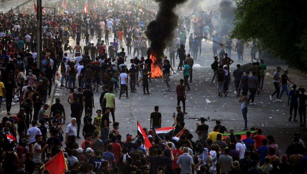 قيادة عمليات بغداد تدعو المتظاهرين السلميين إلى كشف مثيري الشغب