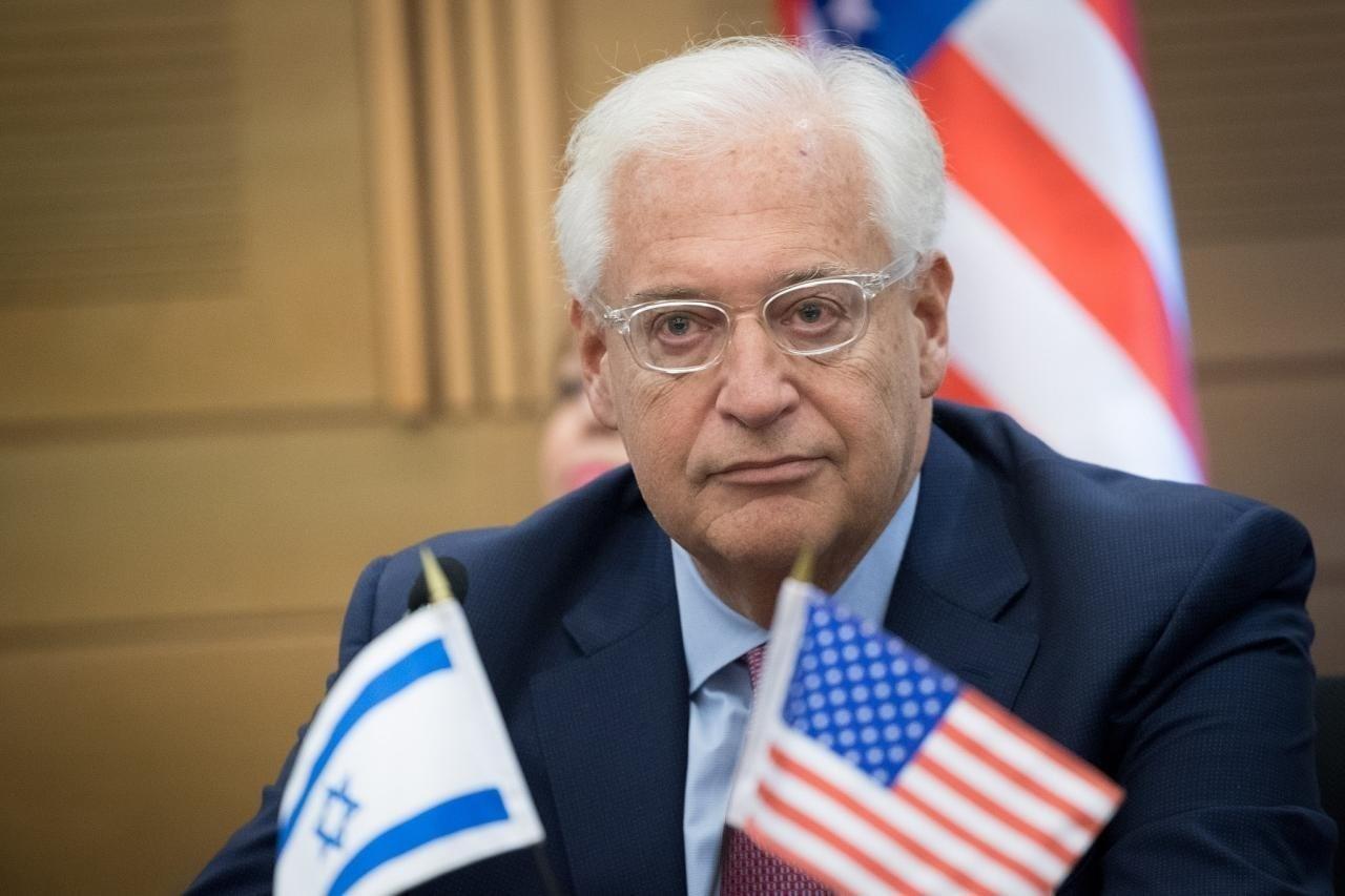 """فريدمان: """"صفقة القرن"""" ستمنح نحو 30 % من أراضي الضفة الغربية للاحتلال الإسرائيلي"""