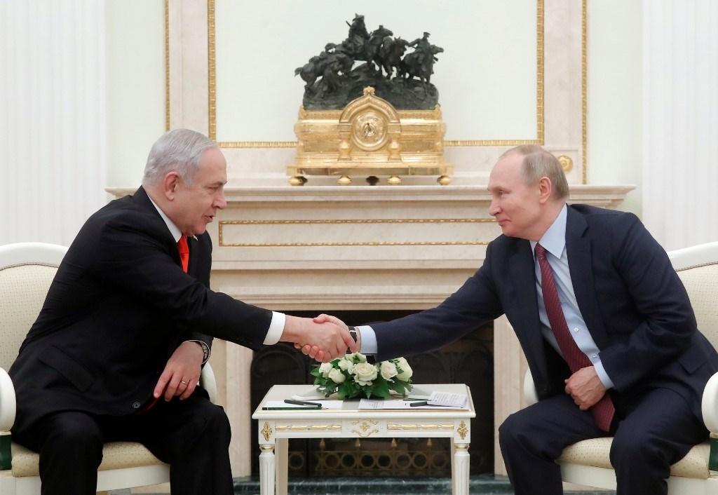 نتنياهو: العلاقات بين روسيا وإسرائيل قوية وأفضل من أي وقت مضى