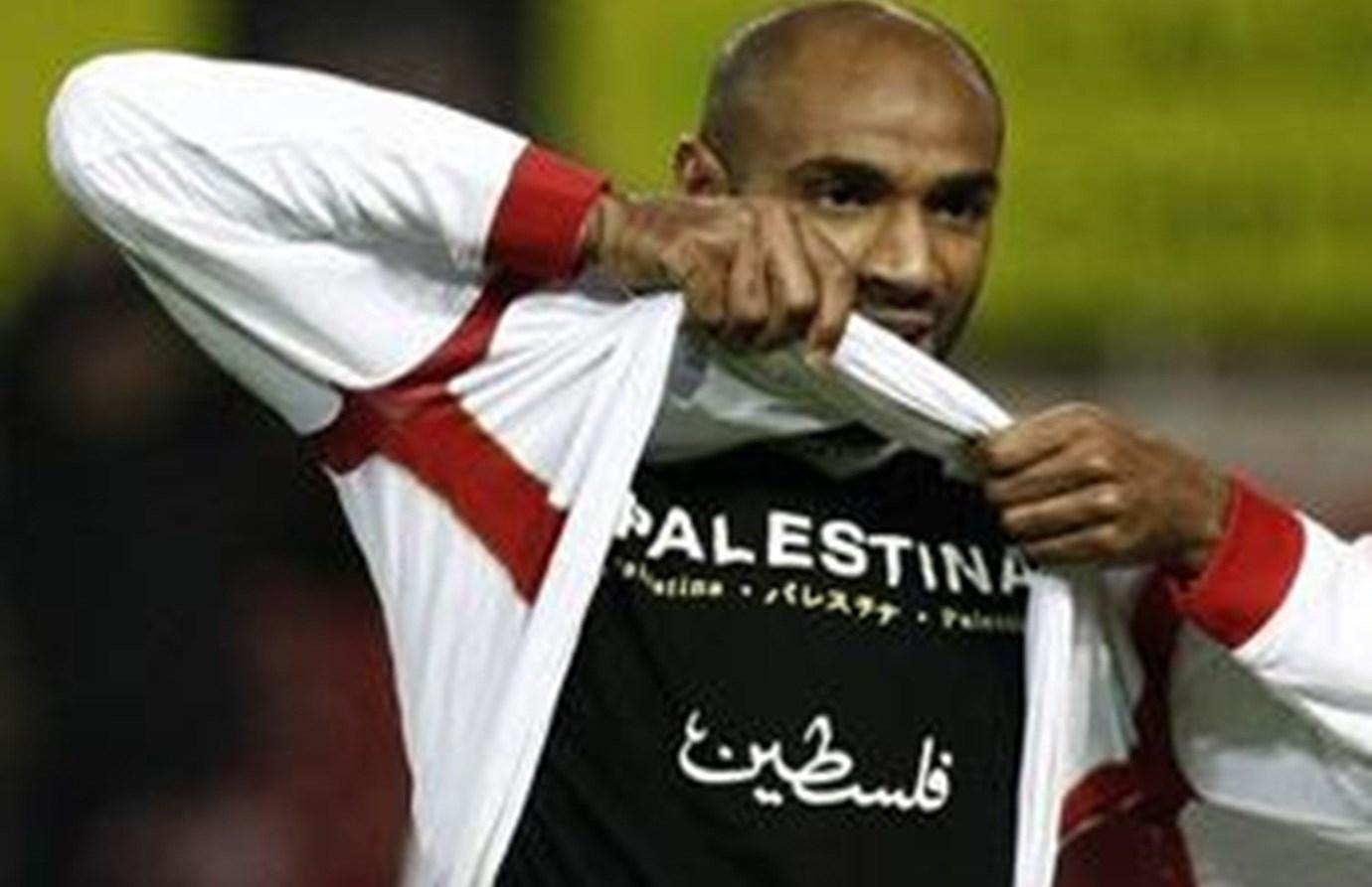 نجم الكرة كانوتيه... وفلسطين