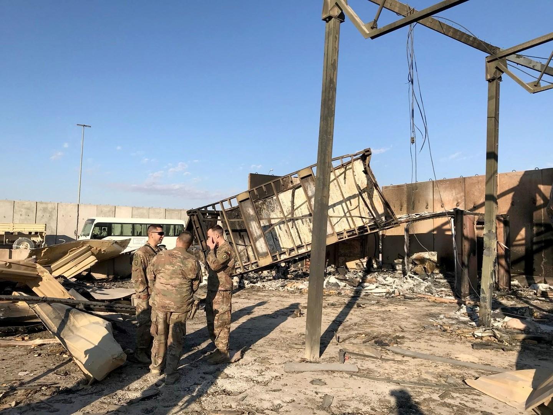 """سي أن أن عن مسؤولين في البنتاغون: ارتفاع عدد الإصابات جرّاء القصف الإيراني لـ""""عين الأسد"""""""
