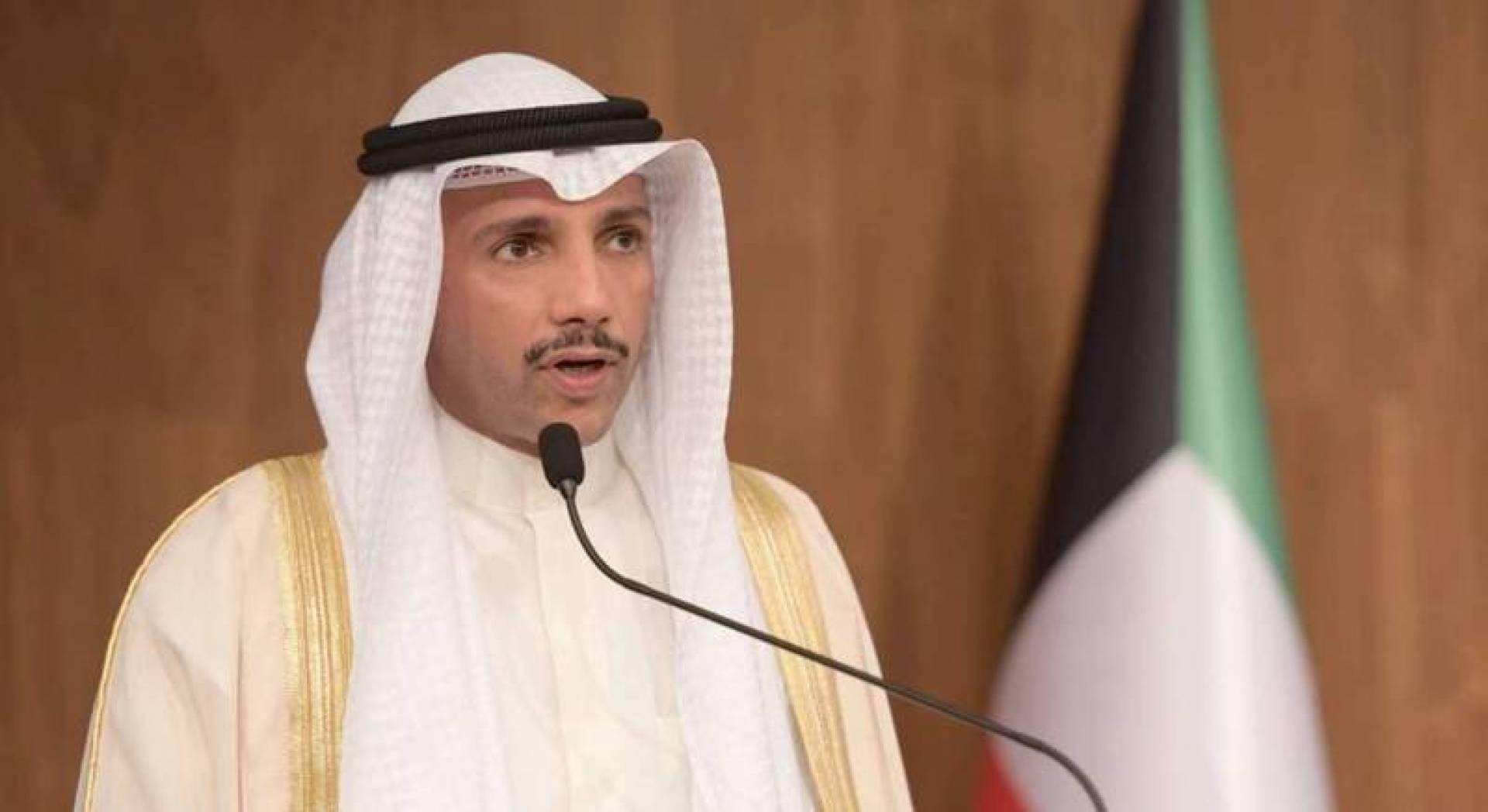 رئيس مجلس الأمة الكويتي: لا تسوية مقبولة من دون دولة فلسطينية كاملة السيادة