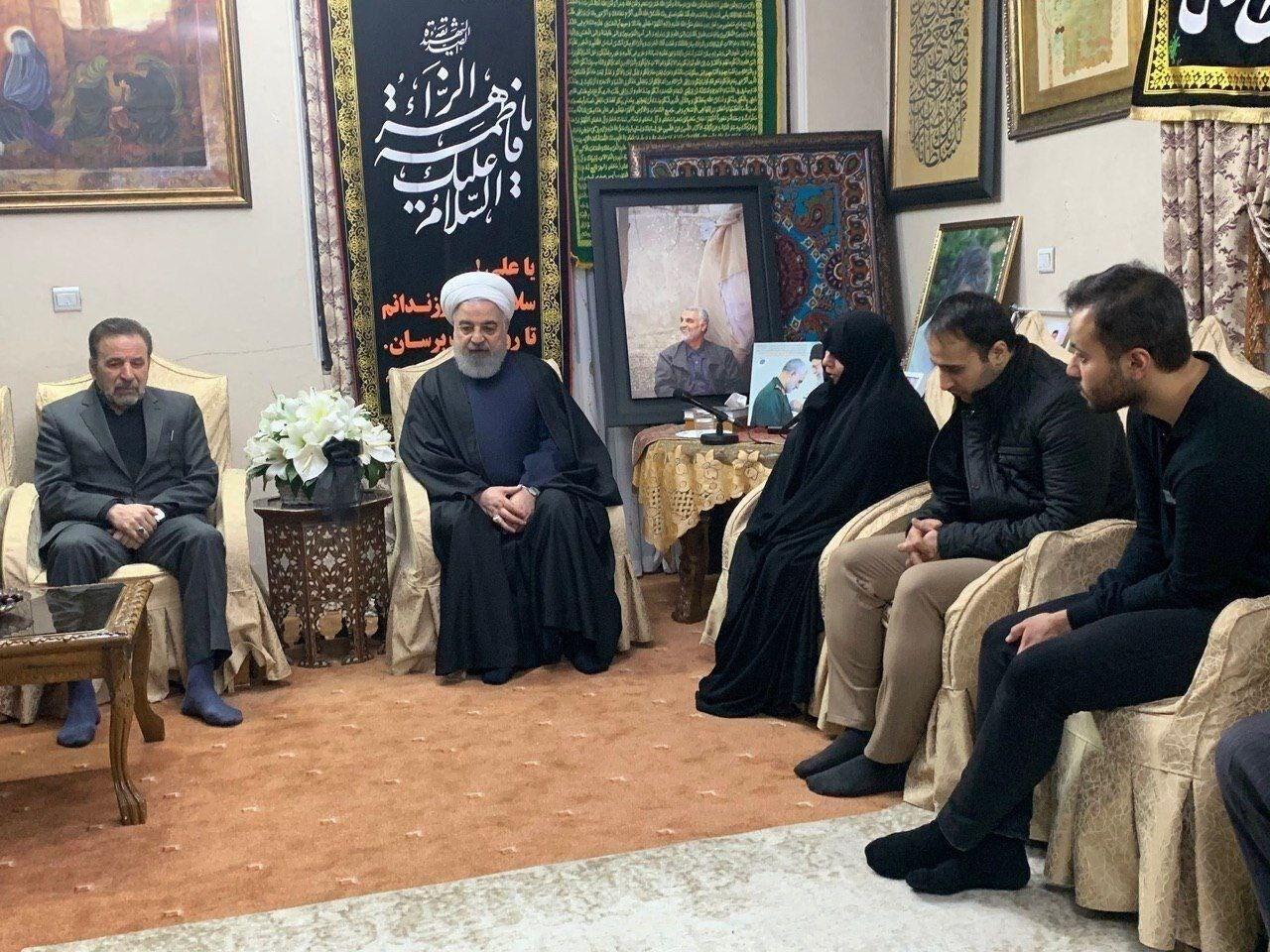 روحاني من منزل الشهيد: أميركا لم تُدرك خطأ ما ارتكبته لكنها ستدرك أبعاده خلال السنوات المقبلة