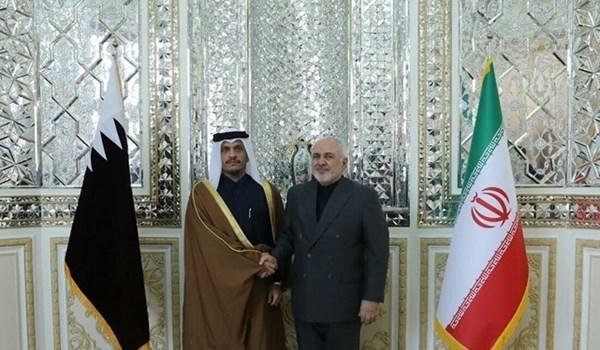 وزير خارجية قطر من طهران: التطورات حساسة ومقلقة للغاية