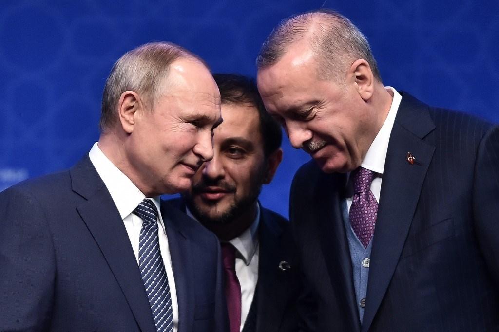 بوتين وإردوغان يدعوان إلى خفض التصعيد بين طهران وواشنطن