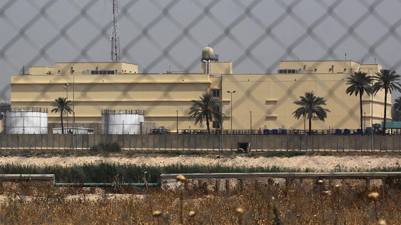 قصف صاروخي قرب السفارة الأميركية في بغداد