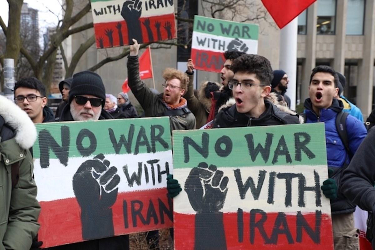 """تجمعات في أكثر من 80 مدينة أميركية: """"لا للحرب ضد إيران"""""""