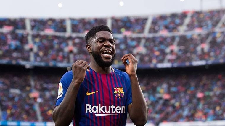 هل يرحل أومتيتي عن برشلونة؟