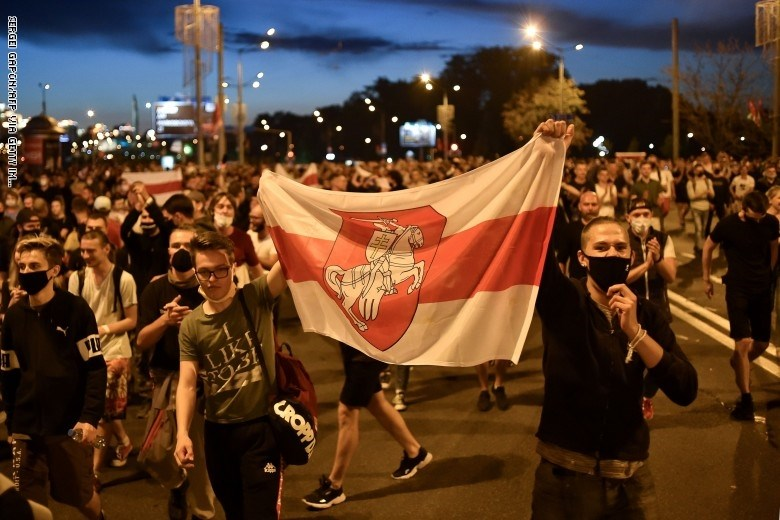 الاحتجاجات في بيلاروس