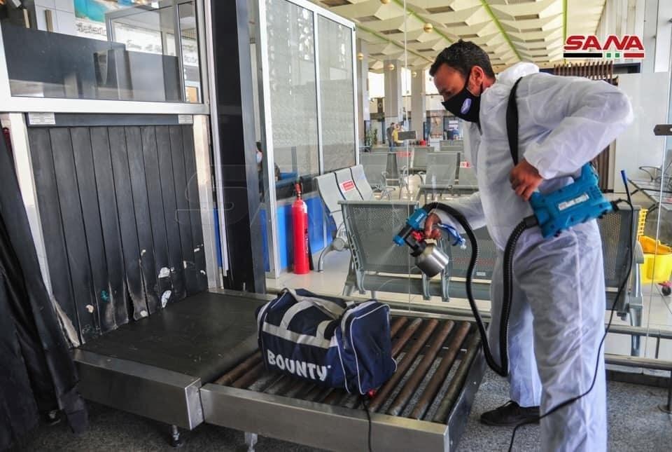إعادة فتح مطار دمشق الدولي