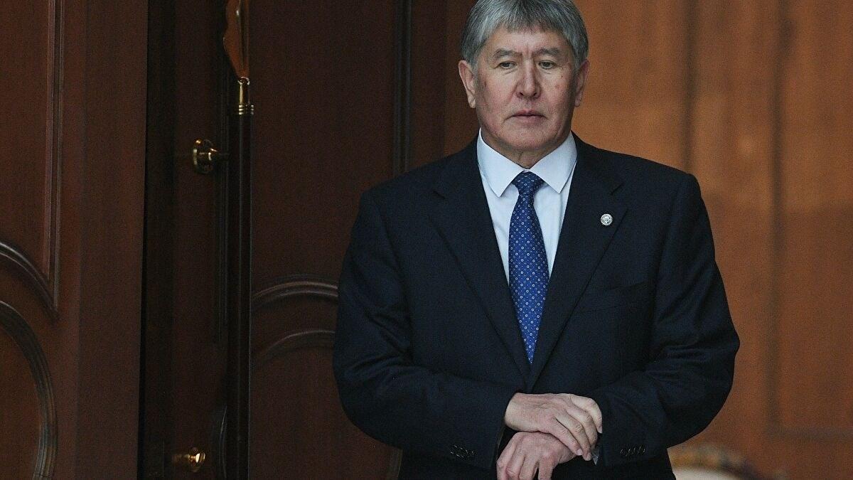 قوات الأمن في قرغيزستان تعتقل الرئيس السابق أتامباييف