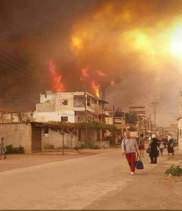 مثقفون يمينيون يتضامنون مع سوريا: لتقديم كل أشكال العون في مواجهة الحرائق (مواقع التواصل)