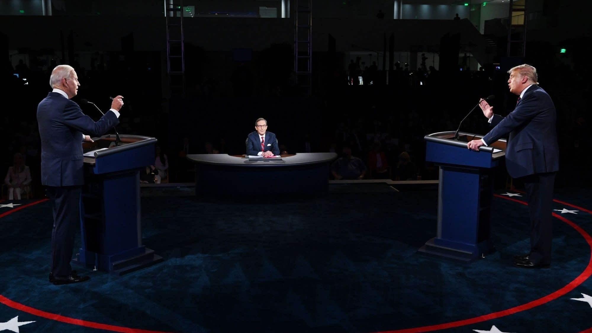 إلغاء المناظرة الثانية بين ترامب وبايدن والاستعداد للأخيرة