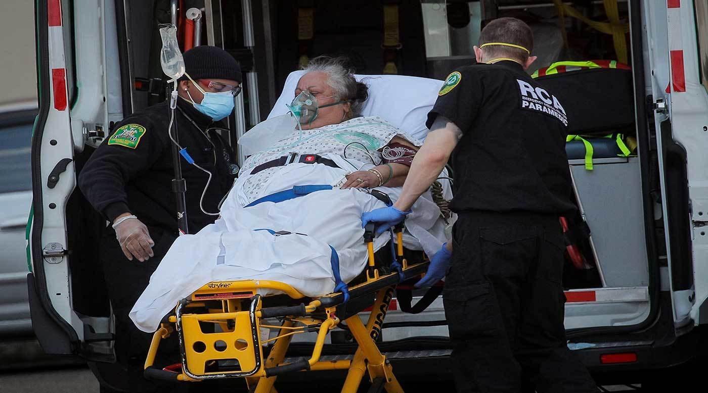 سجلت الولايات المتحدة إجمال عدد الإصابات 7,945,505 و219,282 وفاة