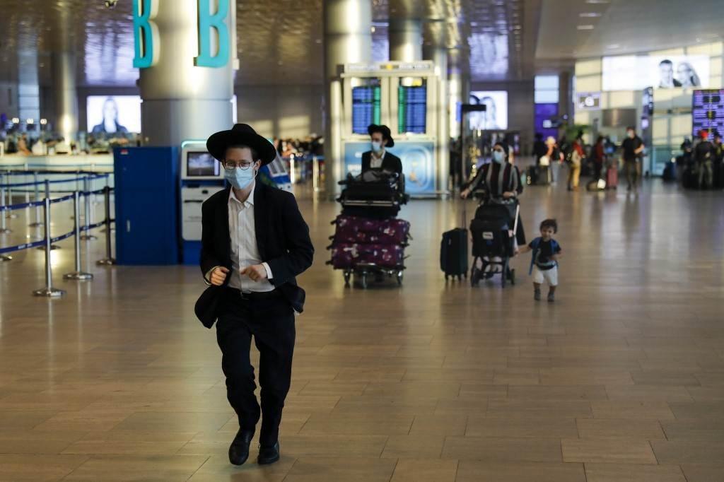 مطار بن غوريون في فلسطين المحتلة (أ ف ب).