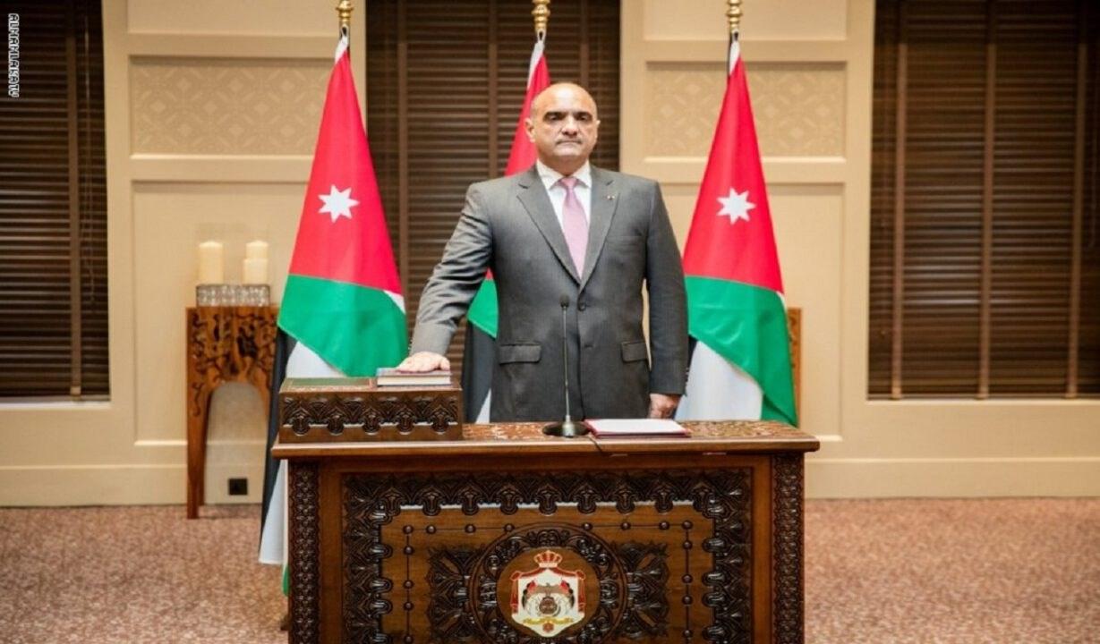 رئيس الحكومة الأردني بشر خصاونة يؤدي اليمين