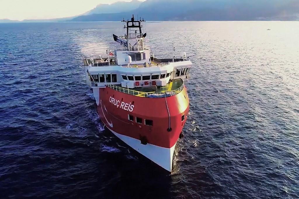 سفينة الأبحاث الزلزالية التركية