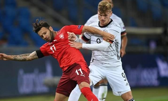 تلعب ألمانيا أمام ضيفتها سويسرا وإسبانيا أمام مضيفتها أوكرانيا