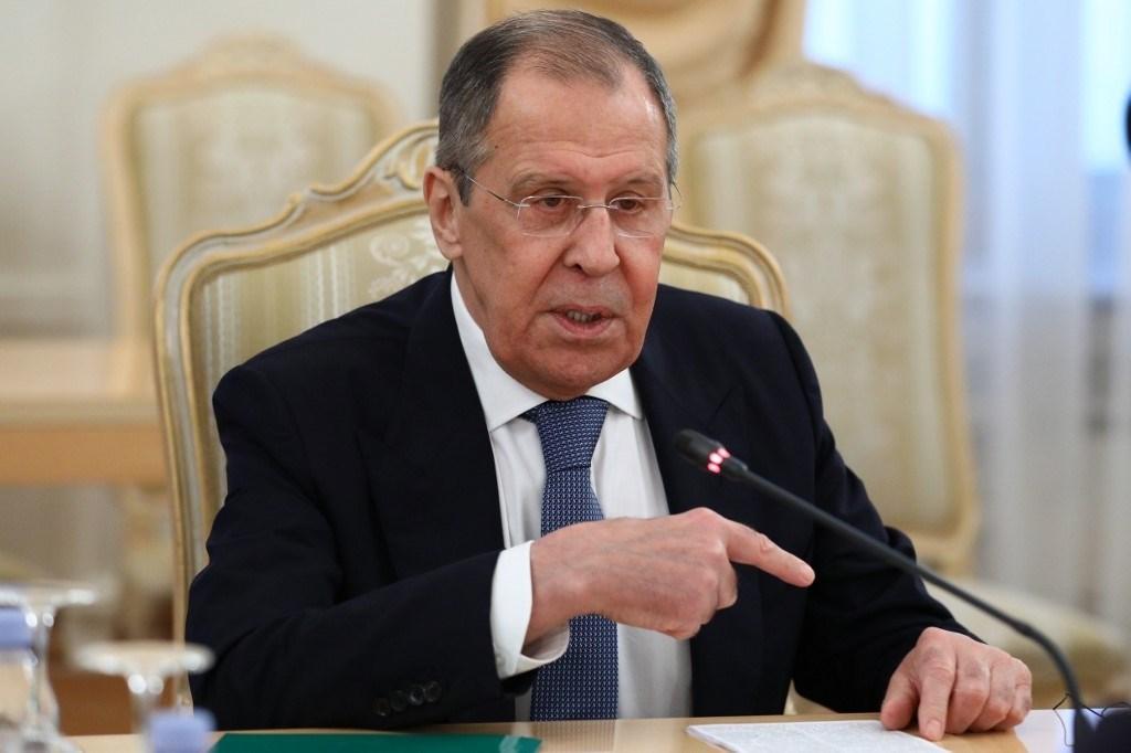لافروف: روسيا سترد بالمثل على العقوبات بسبب قضية نافالني (أ ف ب)