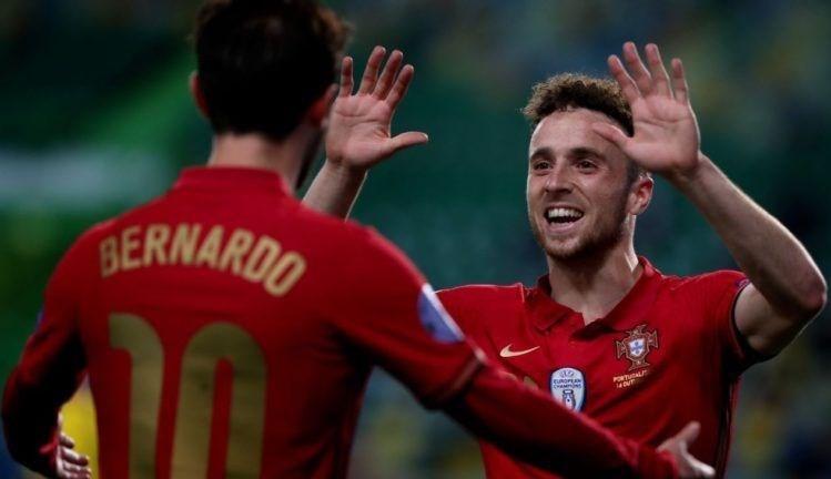 سجّل ديوغو غوتا هدفين للبرتغال