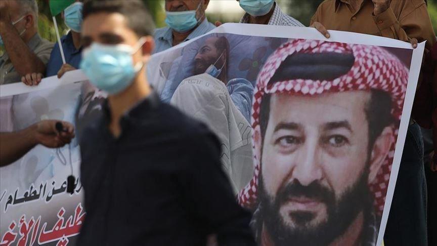 82 يوماً مضرباً عن الطعام.. وتظاهرات مطالبة بحق الأسير الأخرس بالحرية