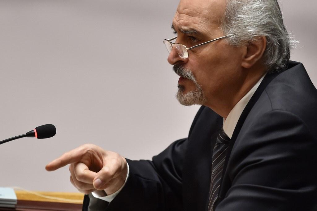 الجعفري: ترسانة الاحتلال الإسرائيلي من الأسلحة النوويّة والكيميائيّة، تمثل التهديد الأكبر للسلم والأمن في الشرق الأوسط (أ.ف.ب)