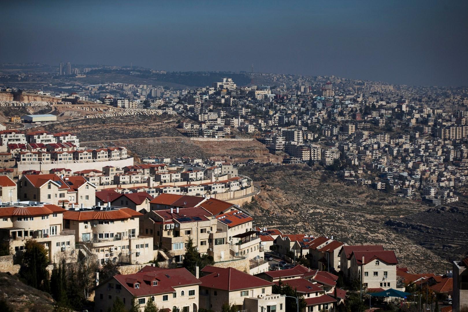 مستوطنات إسرائيلية في الضفة الغربية