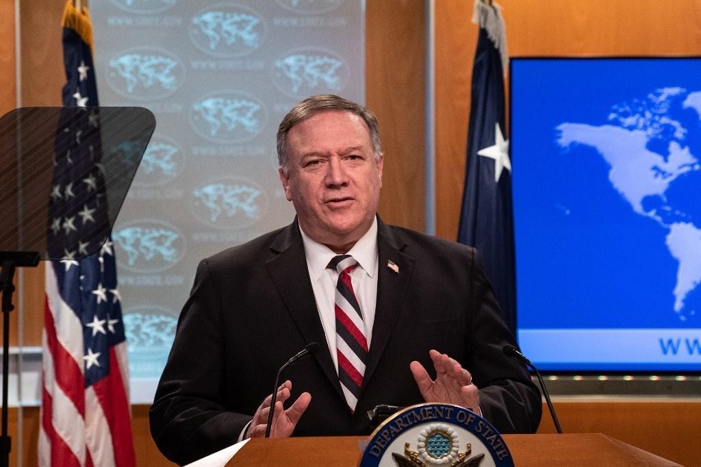 بومبيو: جميع عقوبات الأمم المتحدة عادت تقريباً على إيران (أ ف ب)