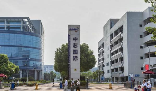 مبنى شركة لصناعة الرقائق الالكترونية في تايوان.
