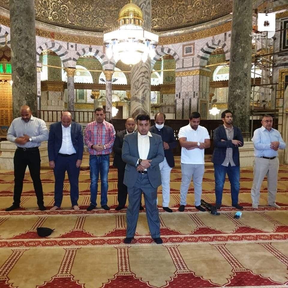 وفد إماراتي داخل المسجد الأقصى