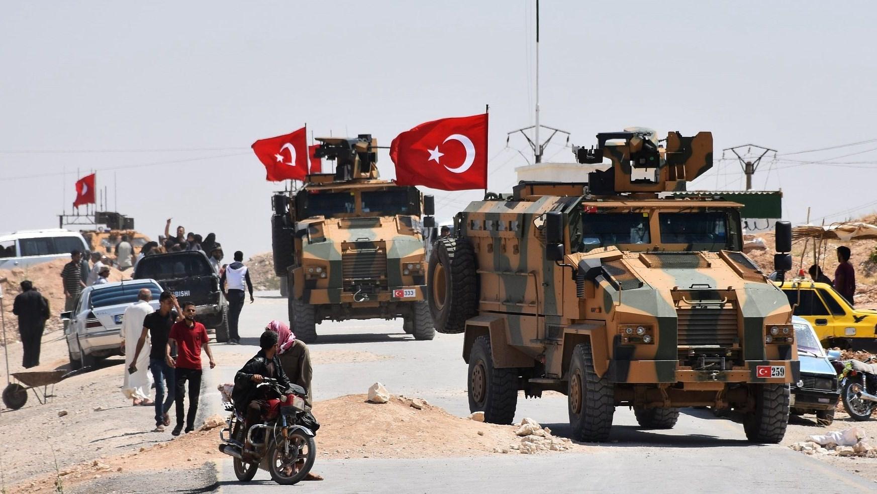 بدء انسحاب الجيش التركي من نقطة مورك .. والتحضير لاخلاء البقية