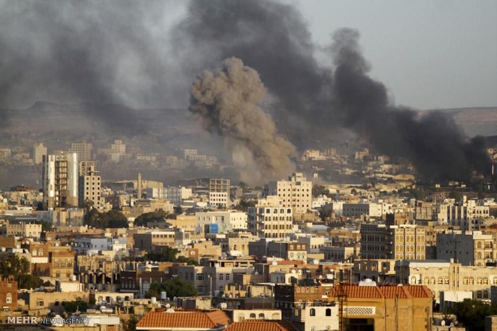 332 خرقا في غارات جوية على اليمن، و اصابة شخص