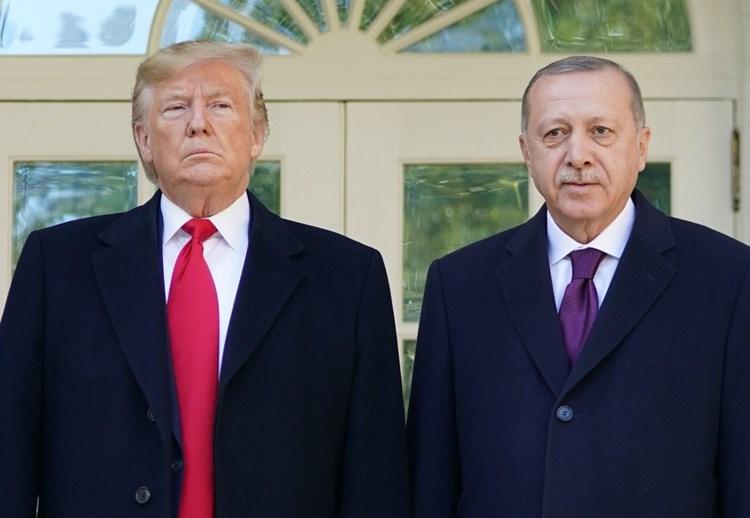 ترامب وإردوغان في البيت الأبيض - 13 نوفمبر 2019 (أ.ف.ب)