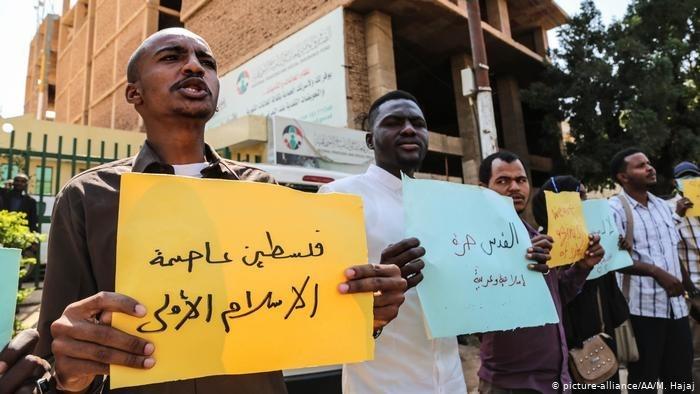تظاهرات في السودان منددة بتطبيع عدد من الدول العربية مع