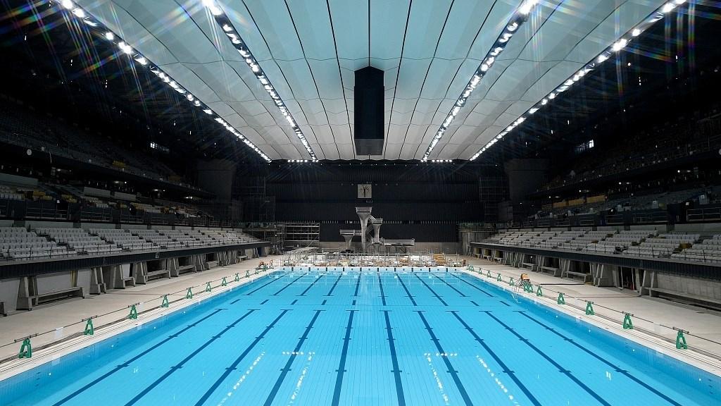 افتتاح مركز أولمبياد طوكيو للألعاب المائية