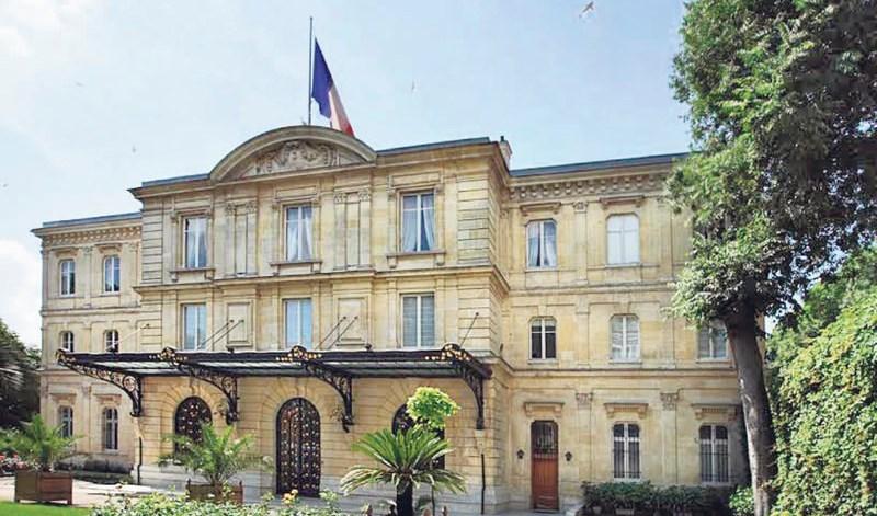 السفارة الفرنسية في تركيا