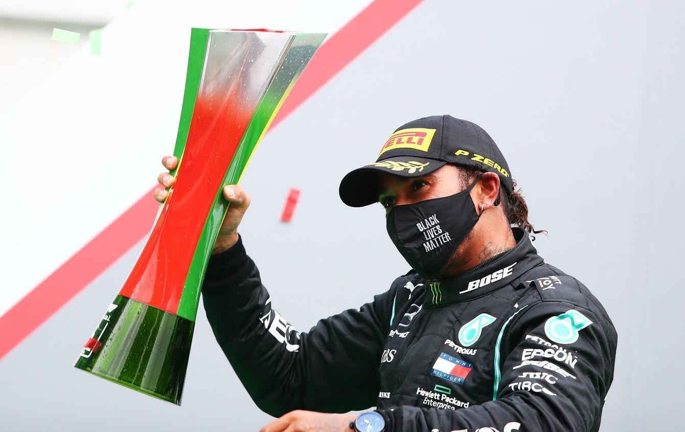 الفوز الـ 92 في مسيرة هاميلتون في الفورمولا 1