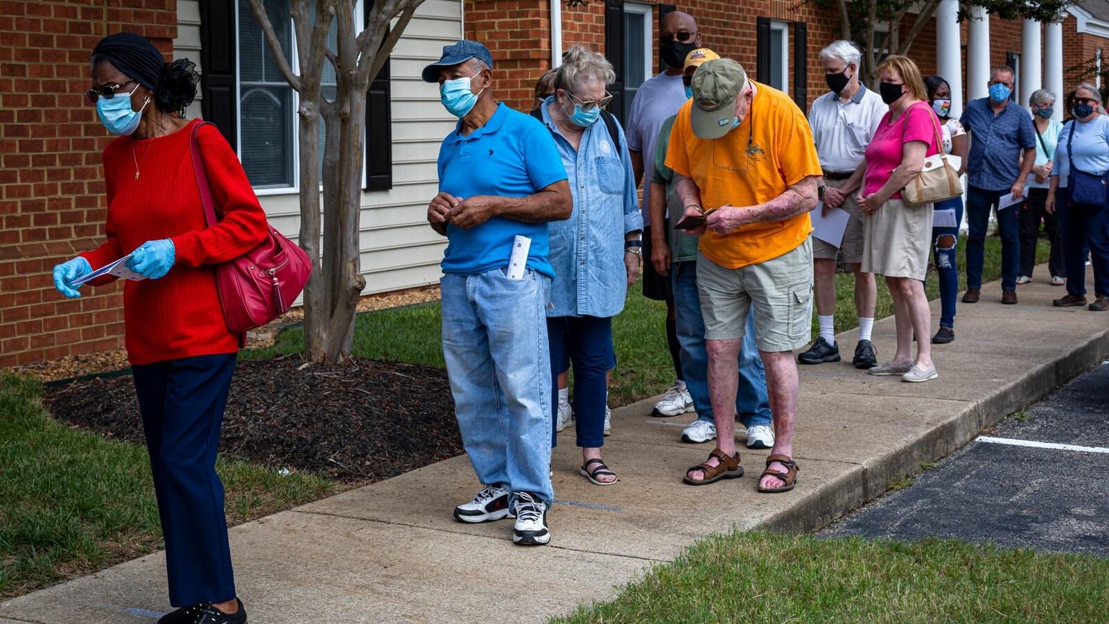 أكثر من 50 مليون شخص صوتوا مبكراً في أميركا
