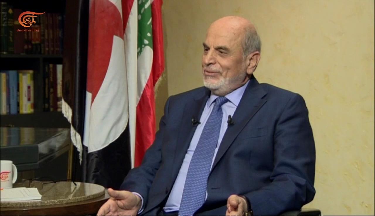 حردان للميادين: هناك تمهيد للتقسيم في لبنان.. وأدعو للتعاون الاقتصادي مع سوريا والعراق