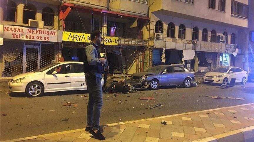 ولاية هطاي: وقع الانفجار خلال مطاردة إرهابي