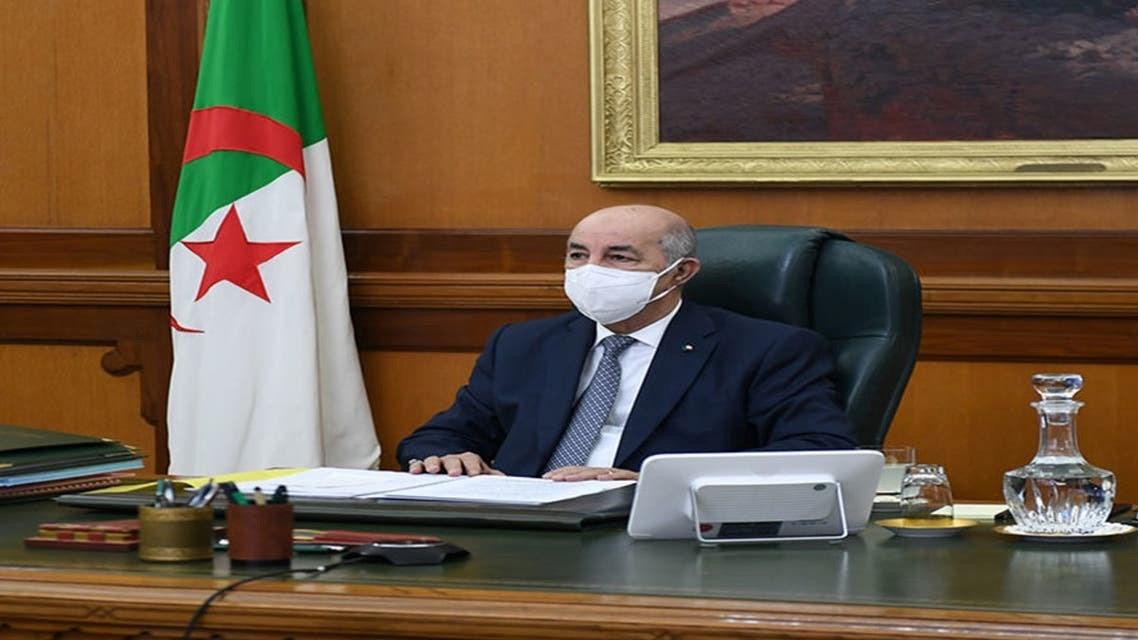 الرئيس الجزائري في حجر صحي طوعي وحالته مستقرة