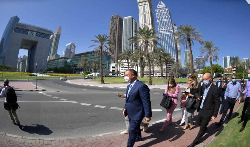 إيريل مارغاليت على رأس الوفد الإسرائيلي في مدينة دبي.