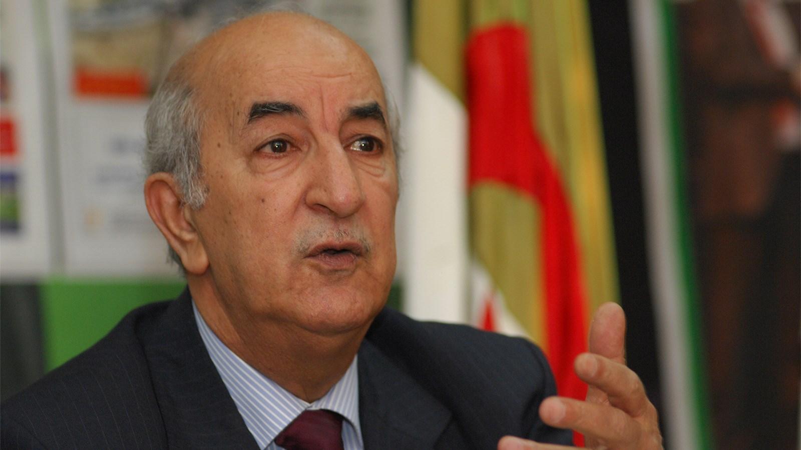 الرئيس الجزائري بدأ حجراً صحياً السبت للاشتباه بإصابته بفيروس كورونا