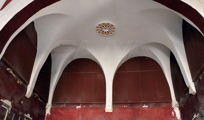 قصر الزهراوي في حمص يستعيد حلته الزاهية