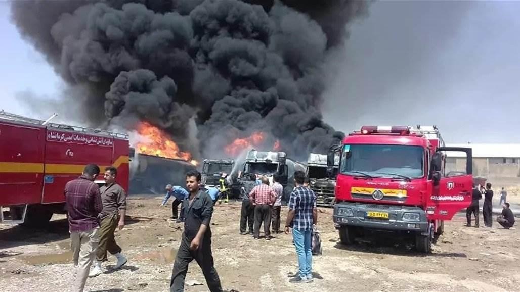 انفجار في منطقة صناعية إيرانية.. وسقوط قتيل