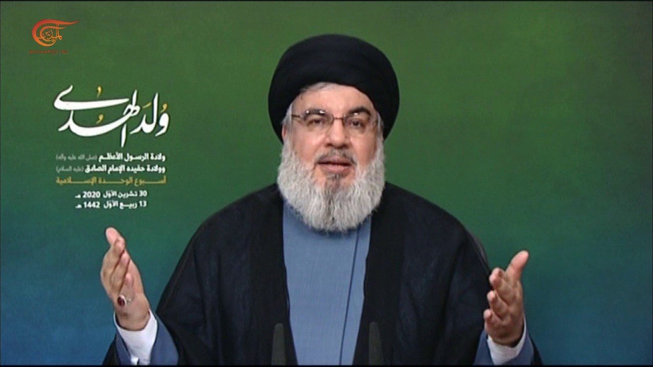 نصرالله: حادثة نيس يرفضها المسلمون والإسلام الذي يحرّم قتل الأبرياء