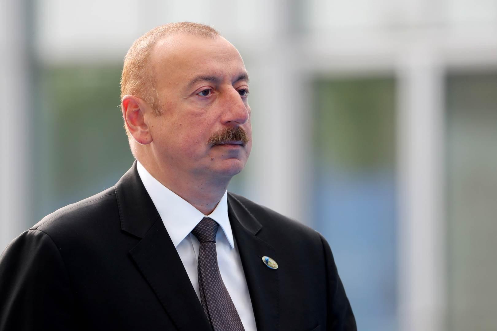 علييف: على أرمينيا أن تقبل بأن ناغورنو كاراباخ ليس أرمينياً وأن تضع جدولاً زمنياً للانسحاب منه